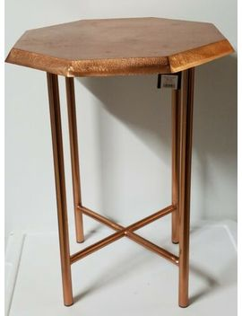 Nate Berkus For Target Accent Table Copper Finish 20x17x15 by Nate Berkus