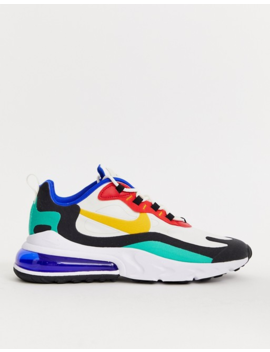 Nike   Air Max 270 React Bauhaus   Baskets   Blanc by Nike