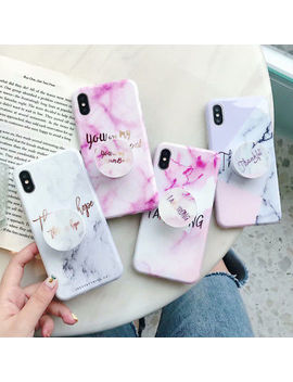 <Span><Span>Marble Iridescent Holographic Holo Phone Case For I Phone 6 7 With Stand Holder</Span></Span> by Ebay Seller