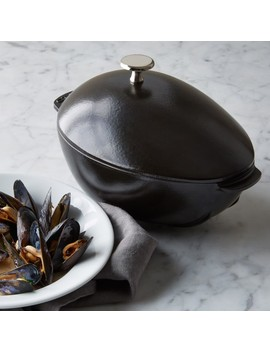 Staub Cast Iron Mussel Pot by Williams   Sonoma