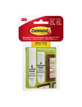 3 M Command™ 12 Pack Picture Hanging Strips by Bed Bath And Beyond