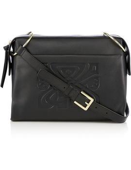 Phoebe Leather Shoulder Bag by Biba