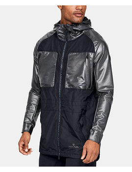 Men's Mixed Media Hooded Parka by General