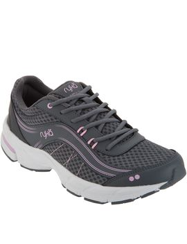 Ryka Leather &Amp; Mesh Lace Up Sneakers   Impulse by Racking Up Steps To Running Quick Errands, They're A Great Choice