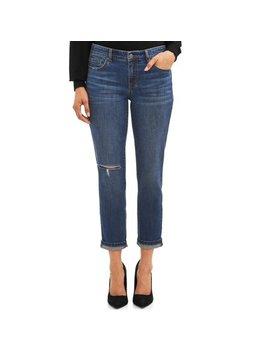 Sofia Jeans Bagi Boyfriend Ripped Knee High Waist Ankle Jean Women's by Sofia Jeans By Sofia Vergara