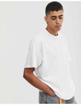 Asos Design – Übergroßes, Weißes T Shirt Mit Rundhalsausschnitt by Asos