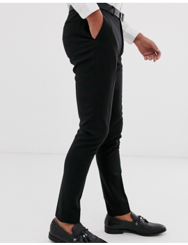 Asos Design 2 Pack Super Skinny Smart Pants In Black And Navy Save by Asos Design