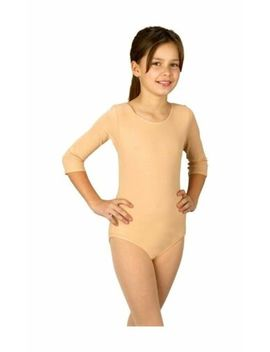 Bodysuit   Child Dancewear Costumes   Nude Small 30 50 Lbs by Easter Unlimited,Inc/Fun World