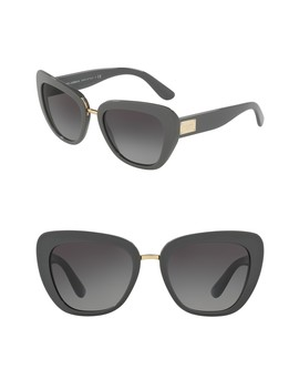 55mm Butterfly Sunglasses by Dolce & Gabbana