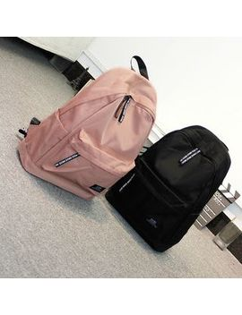 Bag Hub   Plain Canvas Backpack by Bag Hub
