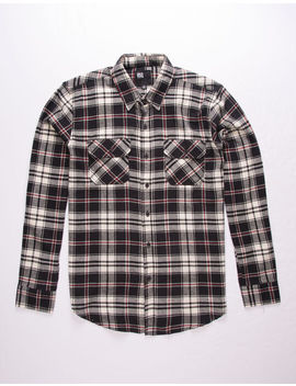 Rsq Stern Plaid Flannel Mens Shirt by Rsq