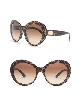 57mm Gradient Oval Sunglasses by Dolce & Gabbana