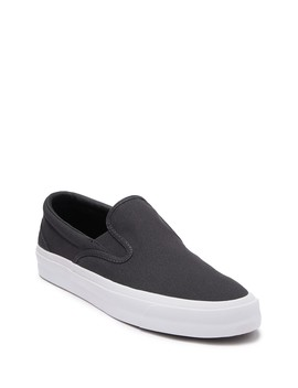 One Star Almost Black Slip On Sneaker (Unisex) by Converse