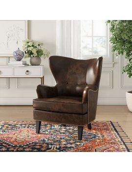 Barnard Wingback Chair by Joss & Main