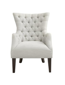 Steelton Button Tufted Wingback Chair by Joss & Main