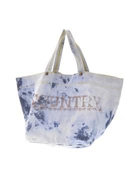 Kapital / Capital Kountry Tie Dyeing Bleach Denim X Studs Eco Tote Bag by Rakuten Global Market