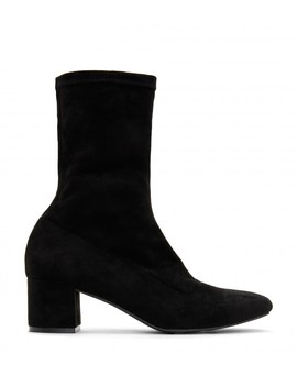 Orla Mid Heel Boots   Black by Matt & Nat