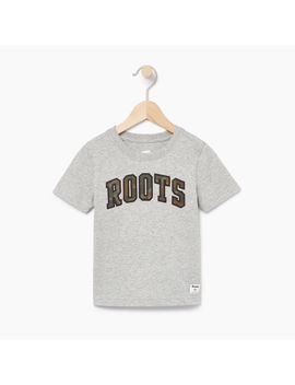 Boys Arch Roots T Shirt Boys Arch Roots T Shirt by Roots
