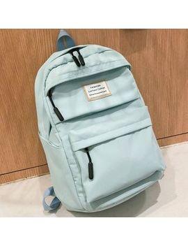 I.O.U   Applique Nylon Backpack by I.O.U