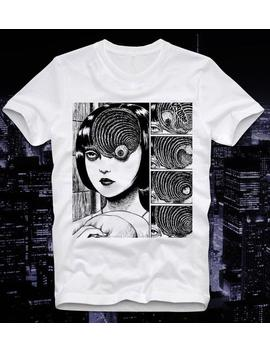 T Shirt Uzumaki Eyeball Cult Junji Ito Horror Manga Anime Japan Japanese Tomie by Etsy