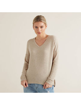 Drapey V Neck Top by Seed Heritage