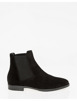 Suede Chelsea Ankle Boot by Le Chateau