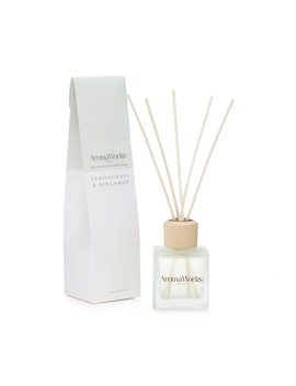 Lemongrass And Bergamot Reed Diffuser by Aroma Works