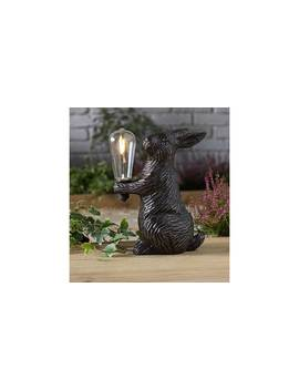 Argos Home Solar Led Resin Hare by Argos