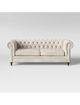 Medfield Chesterfield Sofa With Nailheads   Threshold by Threshold