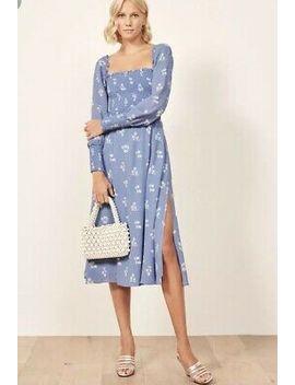New! Reformation Rowan Dress Sz S $248 by Reformation
