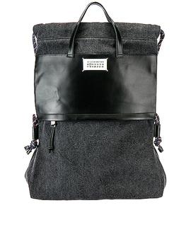 Drawstring Backpack by Maison Margiela