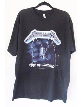Mens Metallica Official Licensed T Shirts Black S Xl Ride The Lightning by Etsy