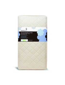 Naturepedic Ultra Breathable 2 Stage Crib Mattress by Naturepedic