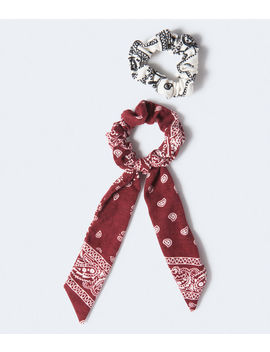 Bandana Scrunchie 2 Pack by Aeropostale