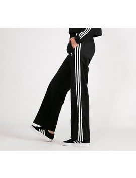 Womens Wide Leg Track Pant by Adidas Originals