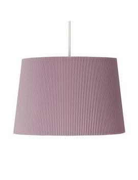 Argos Home Micropleat Shade   Blush Pink by Argos