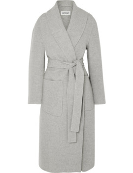 Belted Cashmere Coat by Loewe