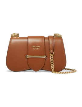 Sidonie Medium Leather Shoulder Bag by Prada