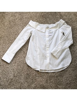 Nwt Club Monaco Off The Shoulder Blouse | 4   Nwt by Club Monaco