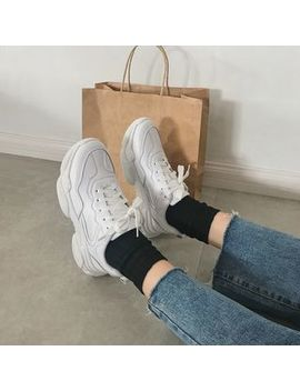Rikko   Platform Lace Up Sneakers by Rikko