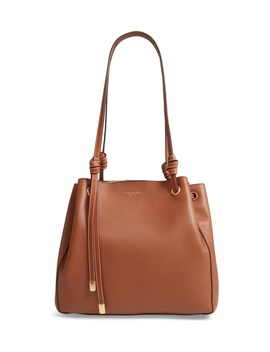 Caroline Leather Tote by Tory Burch