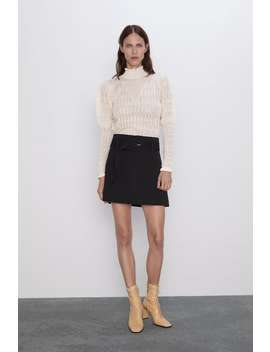 Puff Sleeved Sweater View All Knitwear Woman by Zara