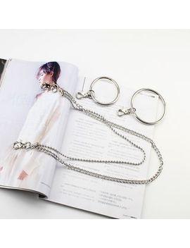 Rofuka   Metal Hoop Layered Waist Chain by Rofuka