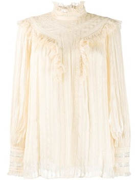 Espionage Lace Blouse by Zimmermann