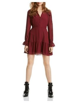 Lucy Striped Flounced Dress   100% Exclusive by Lini