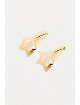 Star Hair Clip Set by Urban Outfitters