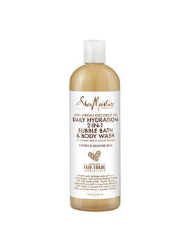 Shea Moisture 100% Virgin Coconut Oil Daily Hydration 2 In 1 Bubble Bath And Body Wash16 Oz by Walgreens