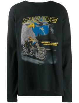 Oversized Eagle Sweatshirt by Rhude