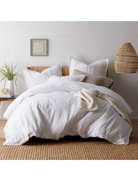 Beachcomber Cotton Duvet Cover / Sham by The Company Store