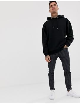 Asos Design Oversized Hoodie 2 Pack Gray Marl/Black by Asos Design